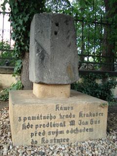 Gedenkstein für Magister Jan Hus